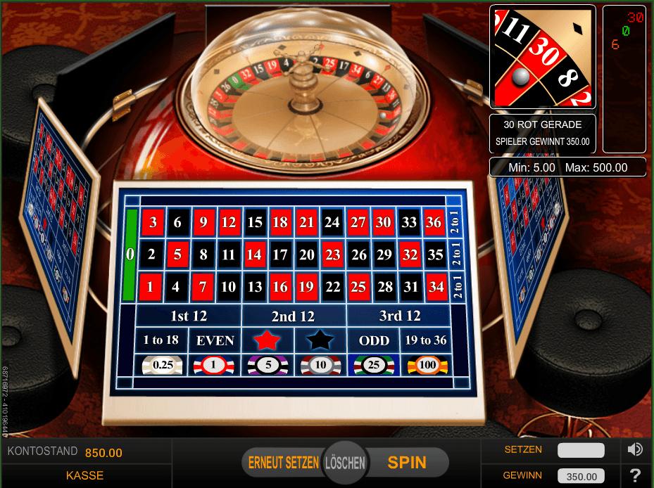 Europäisches Roulette Casino - 220717