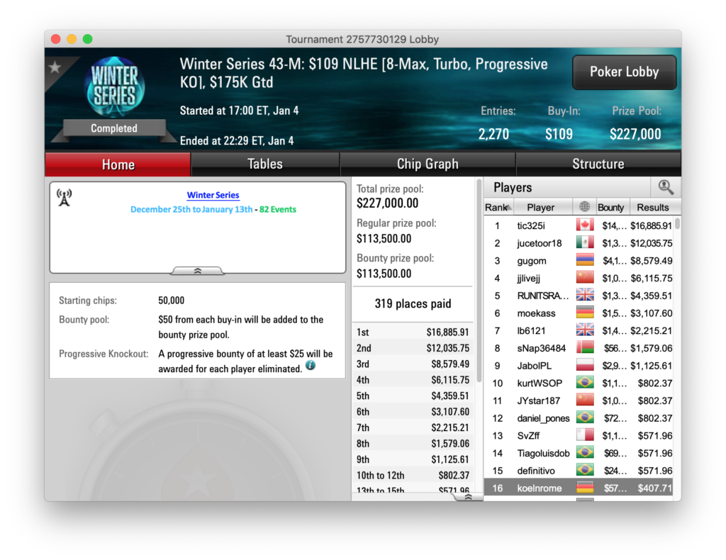 Poker Turniere 2020 - 776153