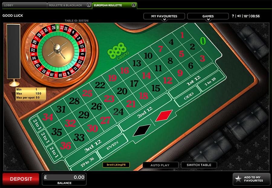 Roulette Tisch - 813257