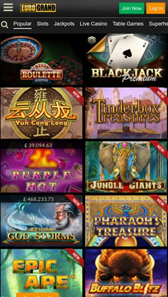 Eurogrand Casino Bonus - 32615