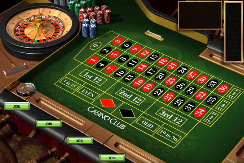 Roulette Tisch Jackpothöhe - 640982