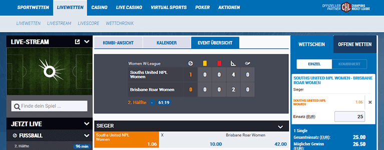 Betway Virtual Sports - 524211