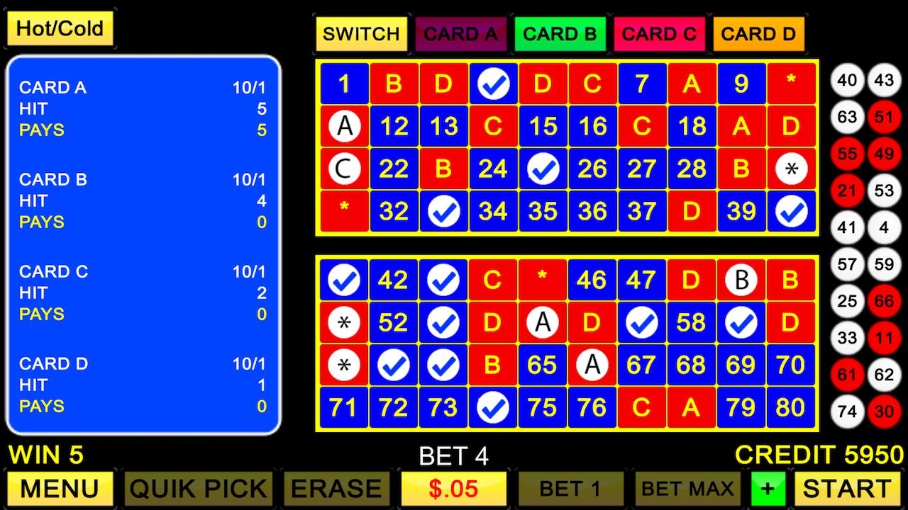 Einziges Glückspiel - 689560
