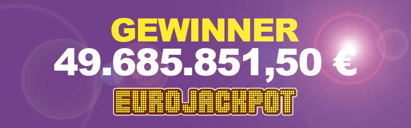 Eurojackpot Gewinner Gebühren - 845557