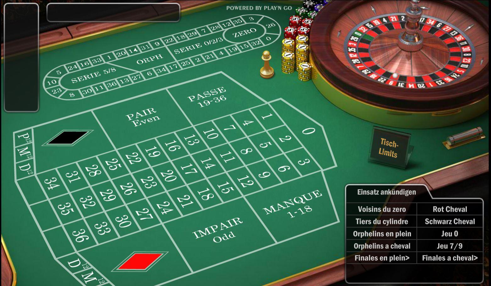 Roulette Zero Spiel - 46838