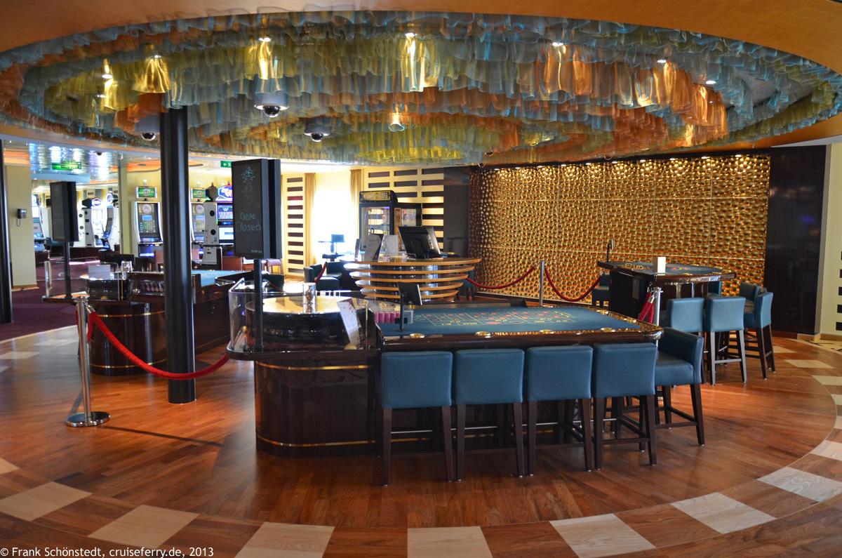 Casino auf Kreuzfahrtschiffen - 743329