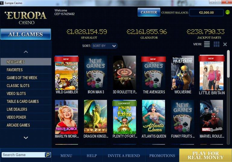 Europa Casino - 856562