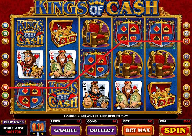 Casino Cash Freirunden - 404312