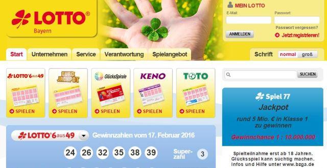 Lotto Bayern Sonderauslosung - 367121