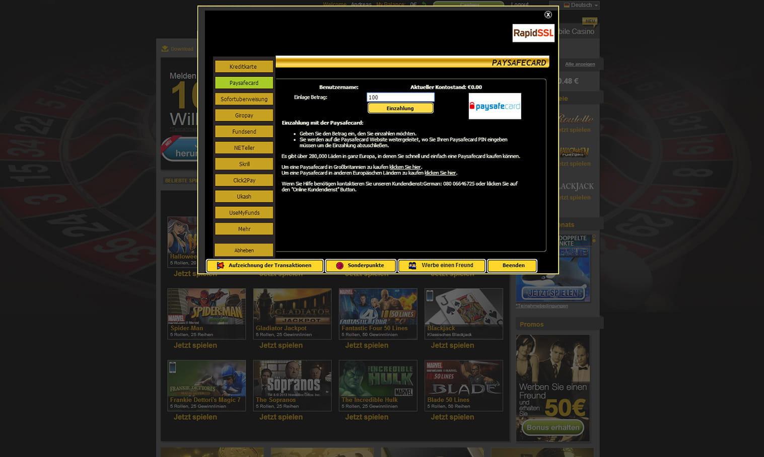 Slots mit Hoher - 431727