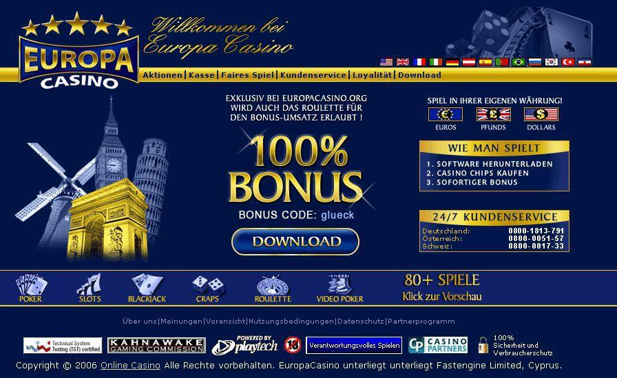 Europa Casino app - 533650