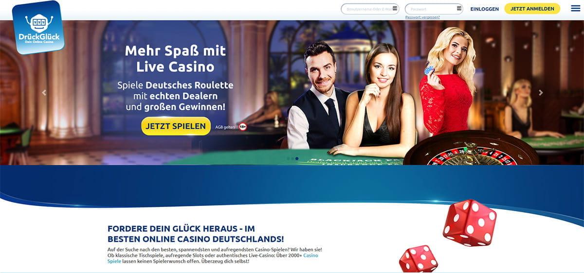Drückglück Gewinnchancen Casino - 511634
