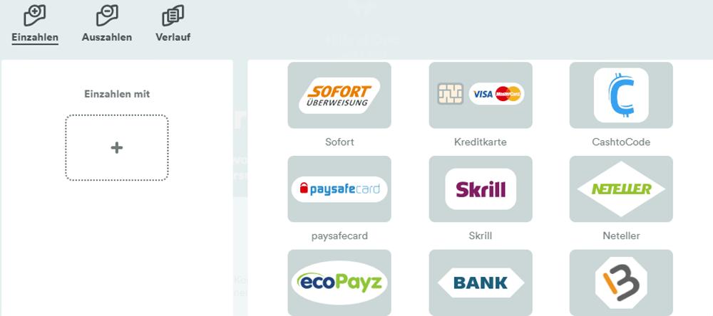 Kreditkarten für Casino - 250323