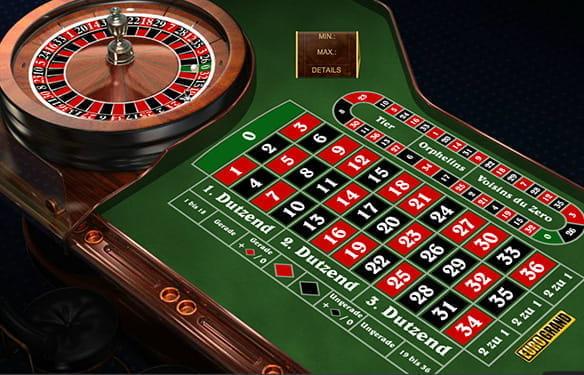 Roulette Tisch Jackpothöhe - 833351