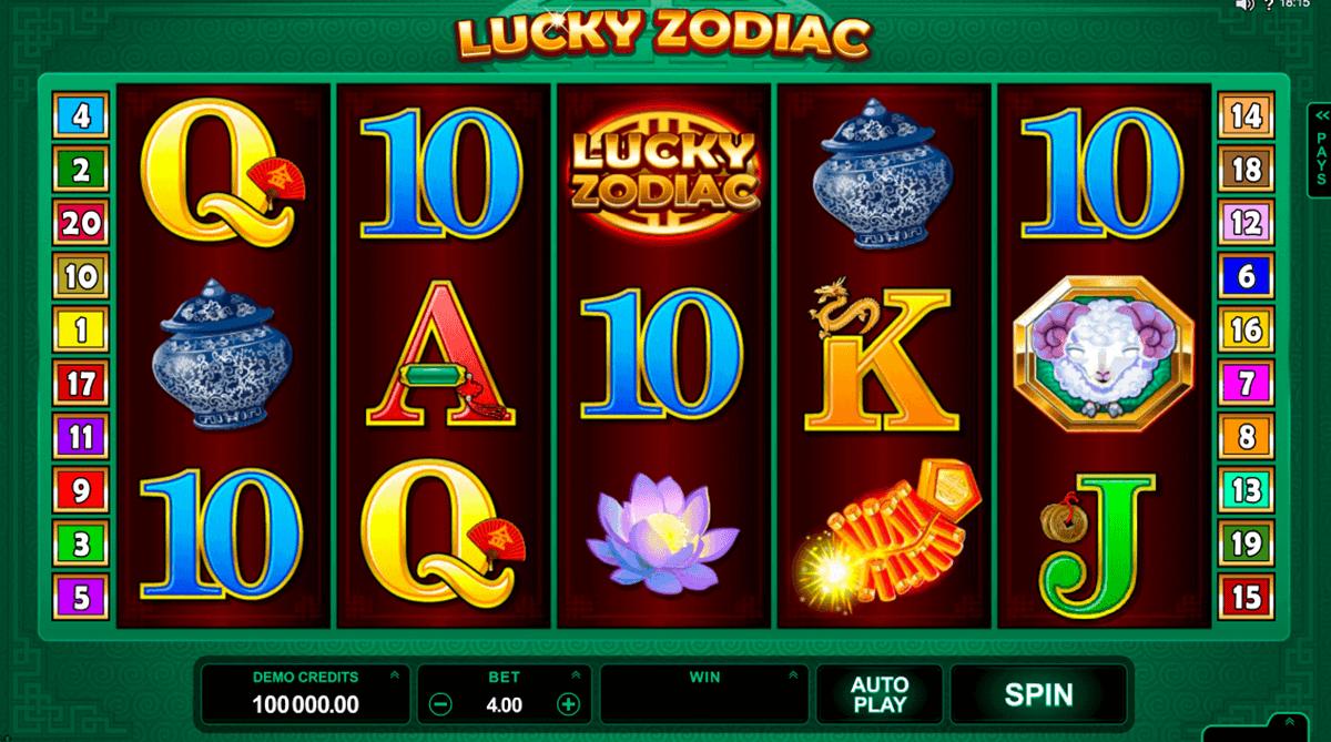 Spielautomaten online Zodiac - 766732