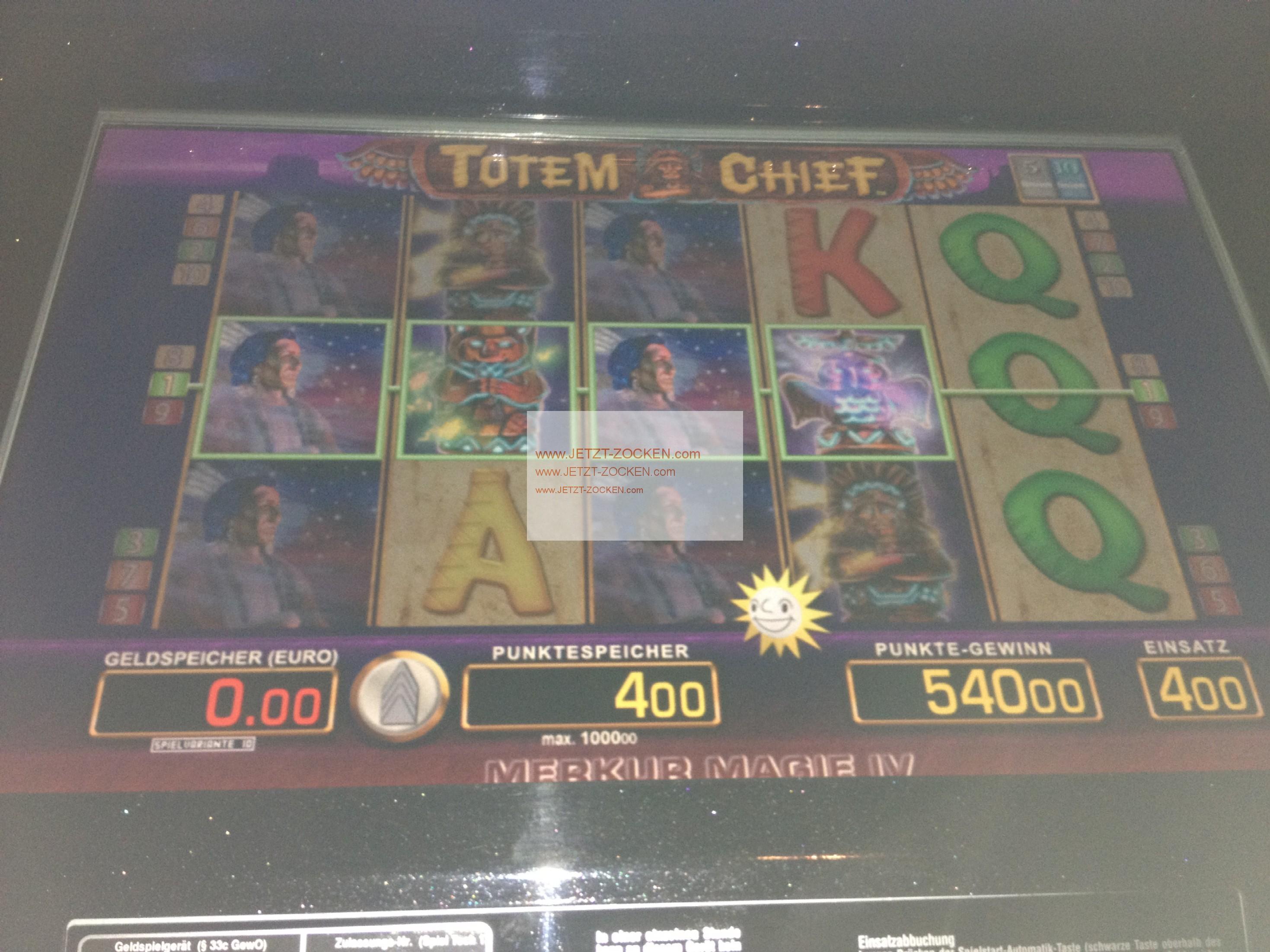 Spielweise Spielautomaten Totem - 581404