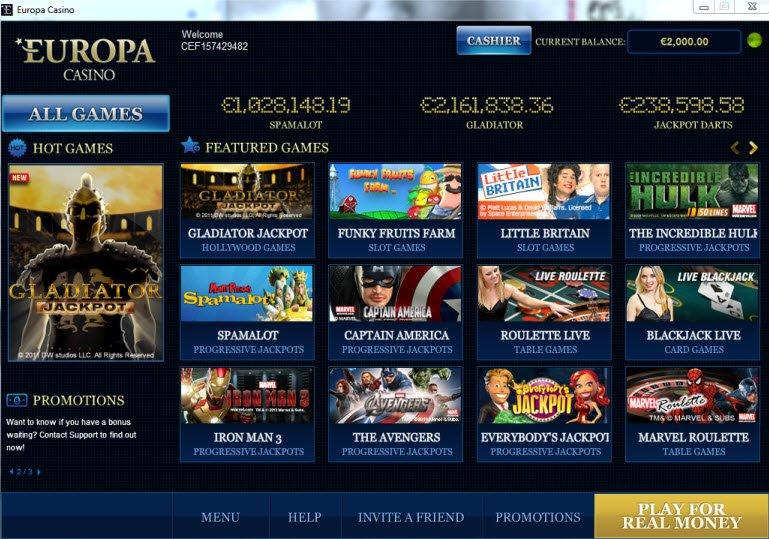 Europa Casino - 702116
