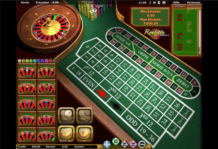 Roulette Auszahlungsquoten Spielautomaten - 563305