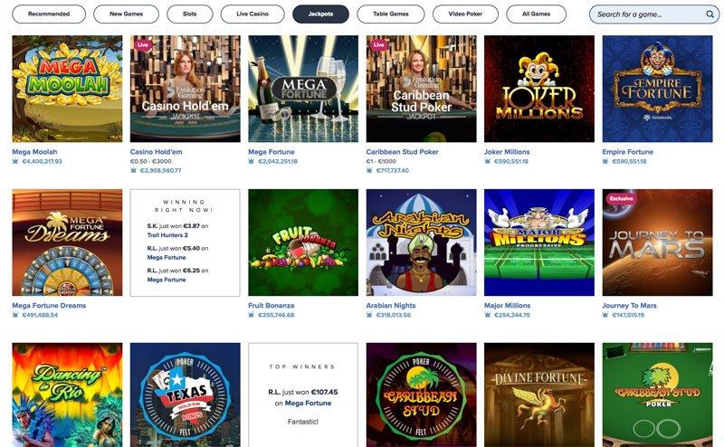 Casino Bonus - 969916