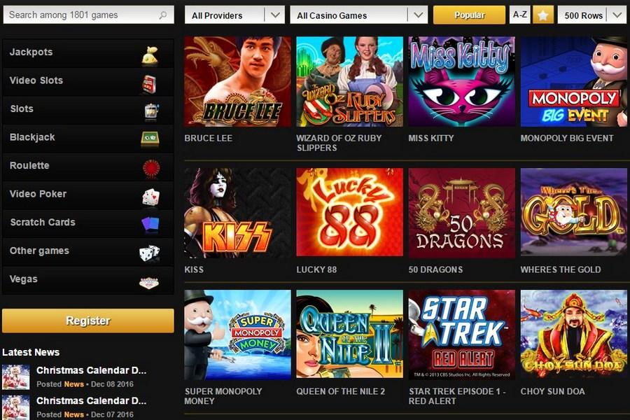 Casino Skills Bonus - 972325