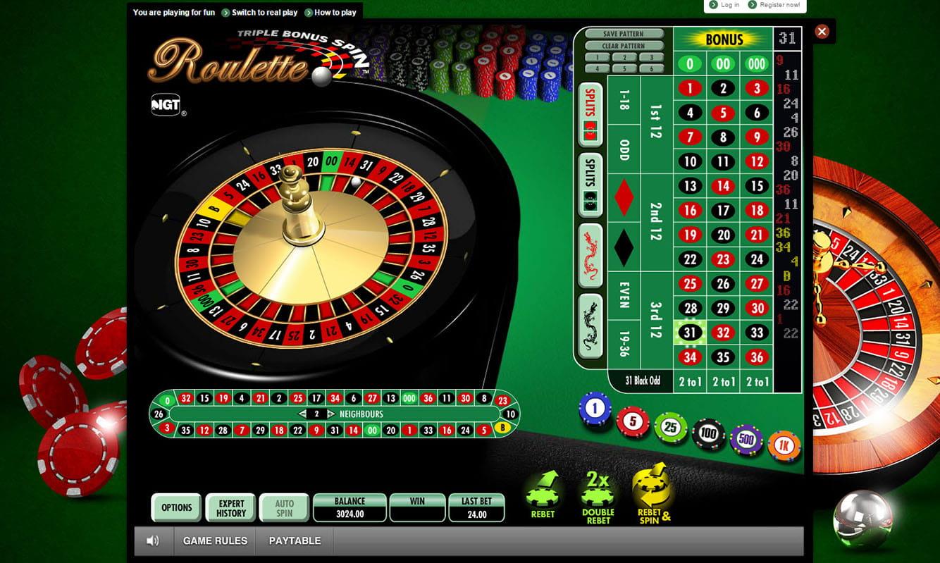 Roulette online Moss - 782331