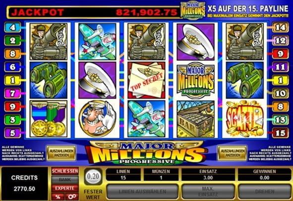 Jackpots spielen - 182140