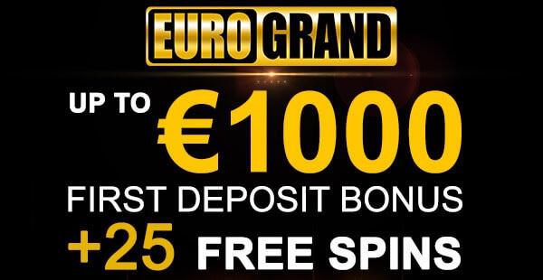 Eurogrand Casino Bonus - 99120