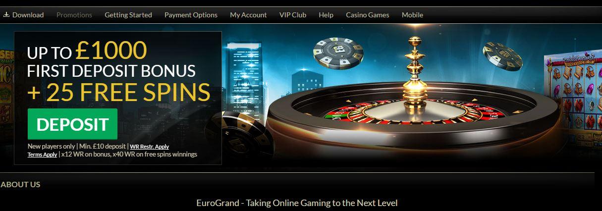 Eurogrand Casino Bonus - 92981