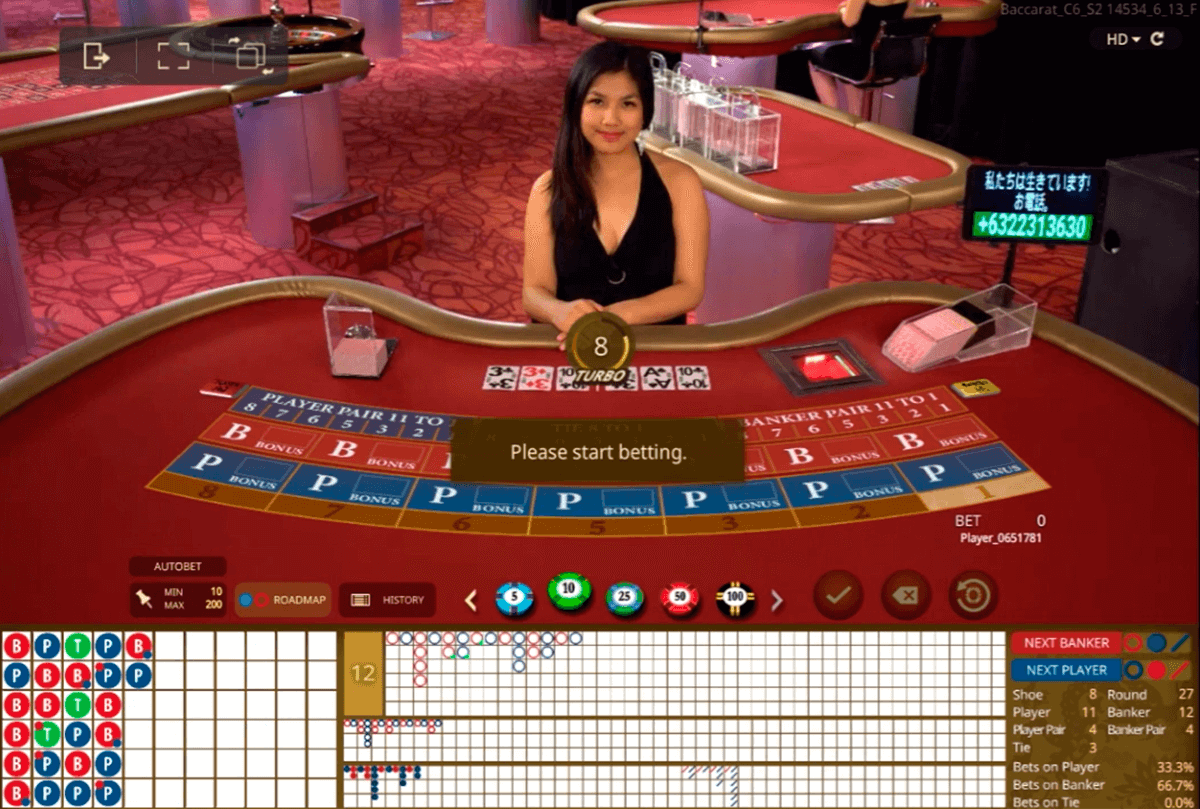 Live Casino online - 264962