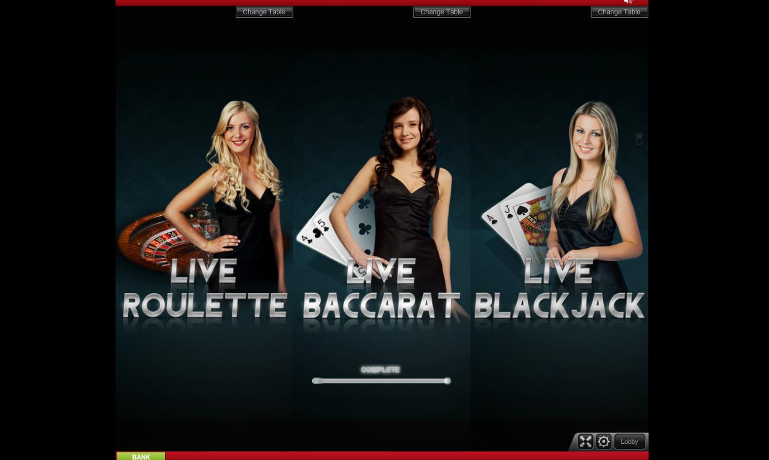 Live Casino - 895024