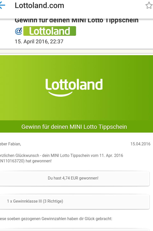 Lotto online Gewinn - 770978