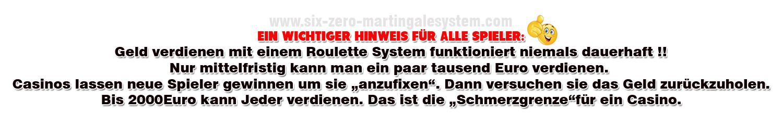 Martingale System Mindestserien - 132719