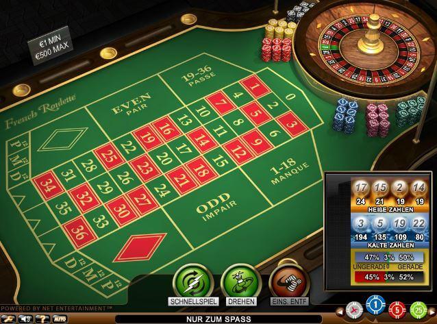 Roulette Reihenfolge - 567253