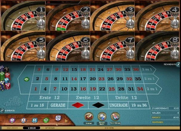 Roulette Rot - 421868