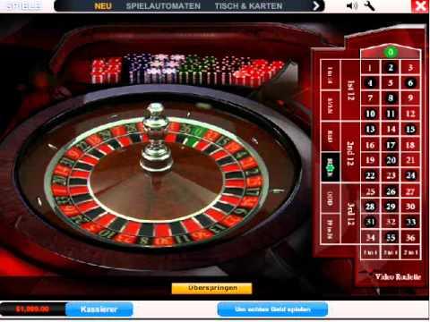 Roulette Tisch Jackpothöhe - 814398