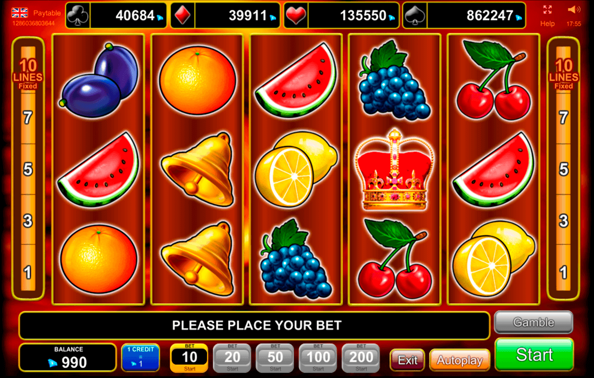 Slot Machine Bonus - 59761