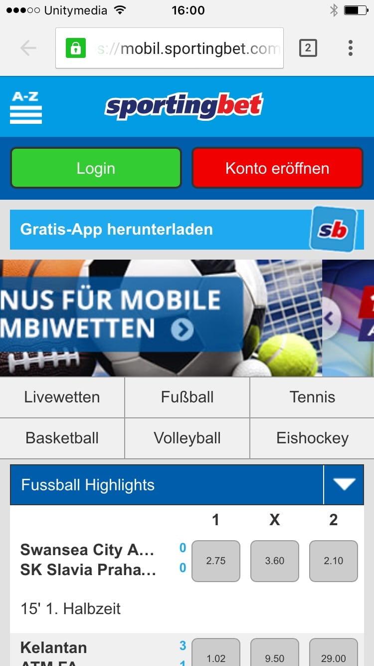 Sportwetten app Buchmacher - 925072